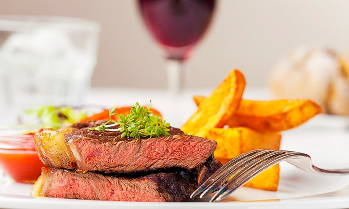 Christi's Bar & Restaurant - Christi's Bar & Restaurant : Steak Meal For Two or Four (from £19) With Wine (from £26) at Nelson's Maidstone