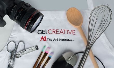 GETCreative Classes at The Art Institute of California - San Diego (Up to 54% Off). Six Options Available.