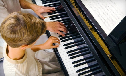 Three or Six Private 30-Minute Lessons at Columbia Academy of Music (Up to 55% Off)