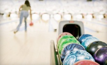 Two Games of Bowling and Shoe Rentals for Two, Four, or Six at Strikers Family Sportscenter & Bowling (Up to 63% Off)