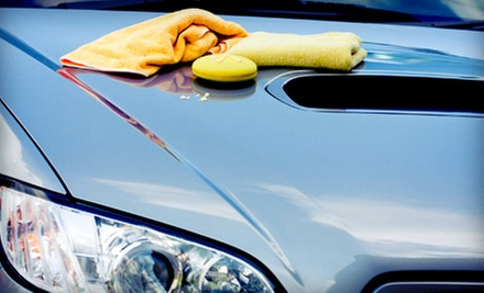 $59 for a Professional Exterior Detail with Meguiar&#x27;s Paint Sealant and Polish at Car Wash Solutions ($119 Value)