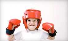 One or Two Months of Youth Boxing and Self-Defense Classes at The KO Club for Kids (Up to 58% Off)