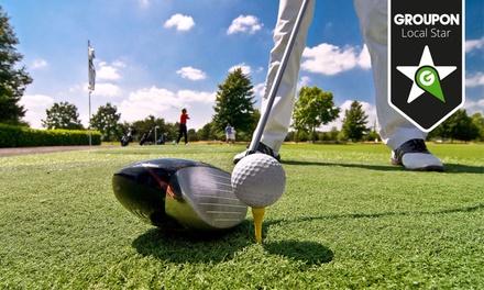 Golfe de Amarante: pacote de 10 fichas para golfe com welcome drink ou pacote de 3, 5 ou 10 aulas com almoço desde 9€
