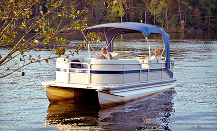 Three-Hour Pontoon-Boat Rental for Up to 12 from Smokey's Bait Shop (54% Off). Six Options Available.