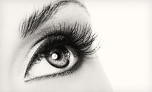 Full Set of Synthetic or Mink Eyelash Extensions at Heaven & Hannah Beauty Lounge (Up to 61% Off)
