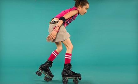 Roller-Skating for Two, Four, or Eight with Food at BonaVenture Family Skating Center (Up to 65% Off)