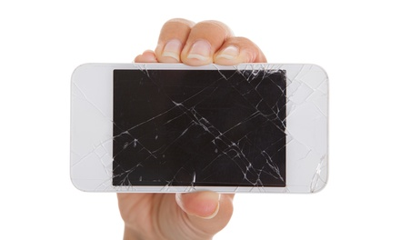 Smartphone and iPad Screen Repair from B&B Computers and Cell Phone (Up to 61% Off). Four Options Available.