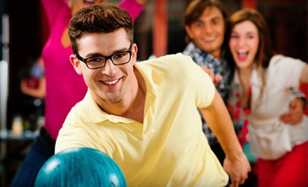 $29 for Two-Hour Bowling Package for Up to Five with Shoe Rental, Pizza, and Soda at Memory Lanes (Up to $97.66 Value)