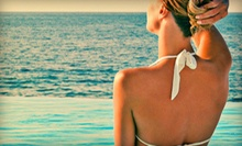 One or Three Organic Spray Tans at Faux Glow (Up to 71% Off)