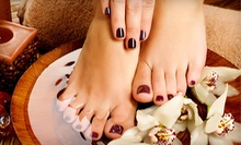 Shellac Manicure with Signature Pedicure, or Two Shellac Manicures at In The Nails (Up to 53% Off)