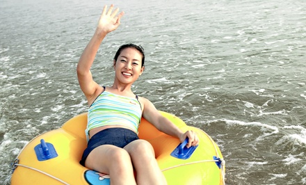 River Tubing with Tubes, Cooler Tube, and Re-rides for Two, Four, Six, or Eight at Chuck's Tubes (Up to 54% Off)