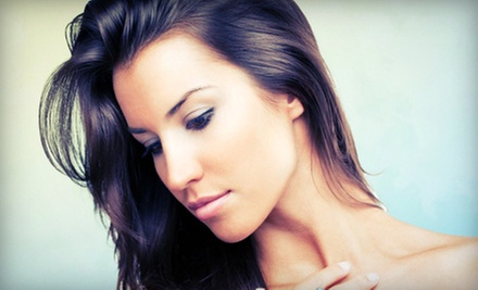 One, Three, or Five Face and Neck Microdermabrasion Treatments at Silhouette Spa (Up to 63% Off)
