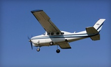 Two Starter Flights, 10 Hours of Flight Time, or Licensing Package at A.T.C. Flight Training Center (Up to 62% Off)