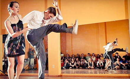 One Month of Swing-Dance Lessons for One or Two at The Lindy Project (Up to 58% Off)