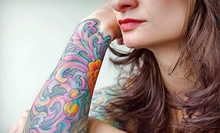 One Hour of Tattoo or Permanent-Makeup Services at Overground Tattoo (Up to 55% Off). Four Options Available.