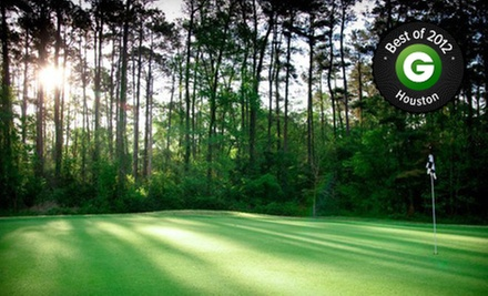 18 Holes of Golf with Cart Rental and Range Balls for Two or Four from Gantz Management Group (Up to 59% Off)