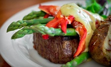 American Food at The Homestead Restaurant (Up to 56% Off). Two Options Available.