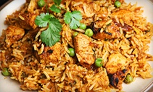 Food and Drinks for Two or Four at Mayuri Indian Restaurant (Up to 52% Off)