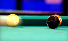 Two Hours of Pool for Two or Four with Beer and Optional Hookah at Pyramida Billiards (Up to 60% Off)