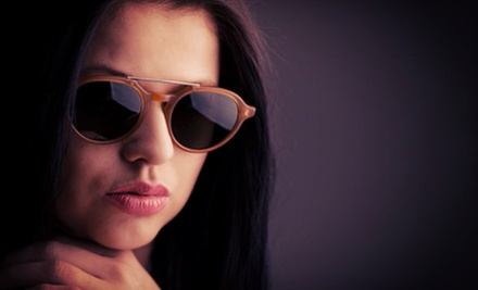 Complete Pair of Prescription Glasses at Brookside Optical (Up to 88% Off). Two Options Available. 