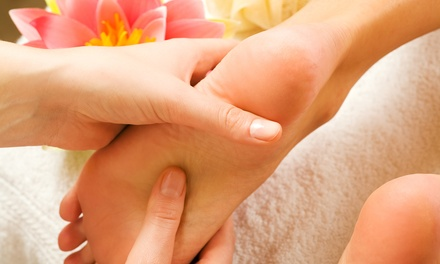 One or Three 60-Minute Foot Reflexology Treatments at Super Foot Reflexology (Up to 64% Off)