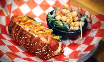 Gastropub Food at The Hop Stop (40% Off). Two Options Available.