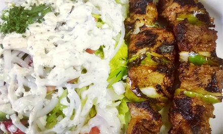 Mediterranean Food for Lunch or Dinner at Red Moon (Up to 43% Off). Three Options Available.