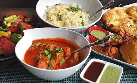 Indian Food and Drinks at Royal India Restaurant (Half Off). Two Options Available.