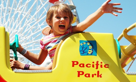 $12 for Unlimited Rides for One at Pacific Park (Up to $24.95 Value)