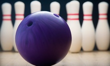 Bowling for Up to Six People or Kids Bowling-Party Package for Up to Eight at Castaways Bowl (Up to 72% Off)