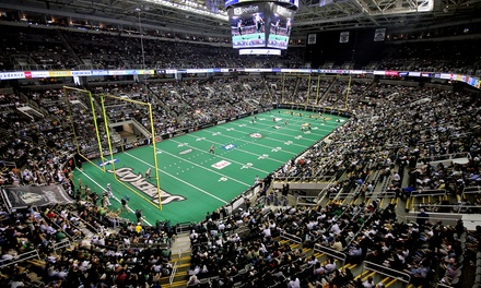 San Jose SaberCats Arena Football Home Opener  at SAP Center on March 23  (Up to 53% Off). Six Seating Options.