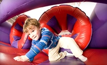 Unlimited Summer Bounce Visits or Day of Summer Camp with Five Open-Bounce Visits at BounceU (51% Off)