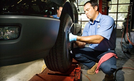 Two- or Four-Wheel Premium Brake Service, Inspection, and Lifetime Warranty at Just Brakes (Up to 51% Off)