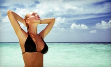 Three or Five Spray Tans at My Resort Tanning & Spa (Up to 74% Off)