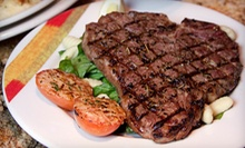 $20 for $40 Worth of Seasonal Italian Dinner and Drinks at Adriatic Grill