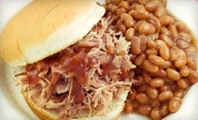 Barbecue for Lunch or Dinner at Catawba BBQ &amp; Grill (Half Off). Two Options Available. 