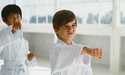 10 or 20 Karate Classes for Kids at Just For Kicks Martial Arts (Up to 91% Off)