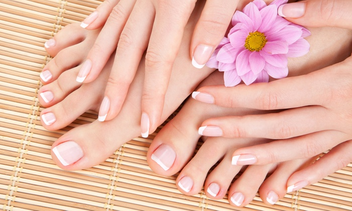 Ladyo's Nails and Beauty - Johannesburg: Deluxe Manicure and Pedicure From R60 at Ladyo's Nails and Beauty (Up To 60% Off)