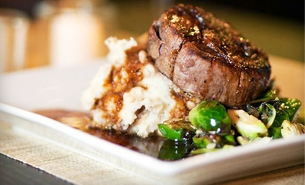 Refined American Cuisine for Lunch or Dinner at Bad Apples Bistro (Half Off). Three Options Available.