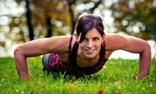 One or Two Months of Outdoor Group Fitness Classes from Traverse Trainer (Up to 77% Off)
