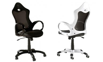 Cadeira para escritório modelo Carrera disponível em duas cores por 99,90€