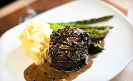 Upscale New American Cuisine at Our House (36% Off)