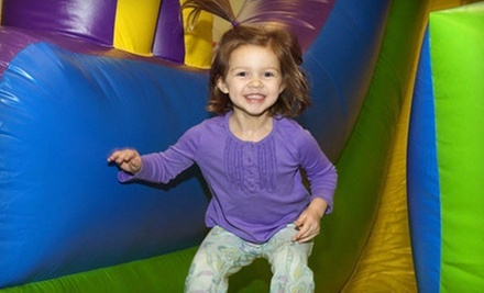 5 or 10 Open-Play Sessions or Two-Hour Party for Up to 12 Kids at Jumping Jax (Up to 56% Off)