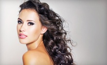 Haircut and Style with Optional Partial Highlights at La Bella Vita Salon (Half Off)