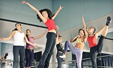10 or 20 One-Hour Dance-Inspired Fitness Classes at The Stage (Up to 60% Off)