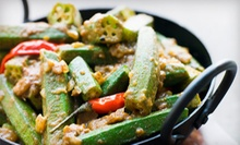 $12 for $25 Worth of Indian and Indo-Chinese Food at Taste of Bollywood
