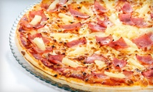 $8 for Two Large Pizzas with Toppings at All American Pizza ($16 Value)