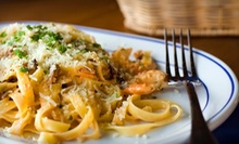 Italian Meal for Two with Entrees and a Bottle of Wine or $20 for $40 Worth of Italian Cuisine at La Prima Donna 