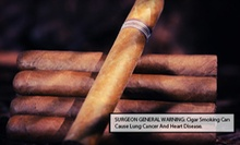 Admission to the BadAsh Cigar Crawl or Old School Day Party from The Green Chandelier Event Company (Up to 53% Off)