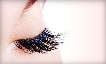 Eyelash Extensions with Optional Two-Week Touchup from Locks n Lashes (72% Off)